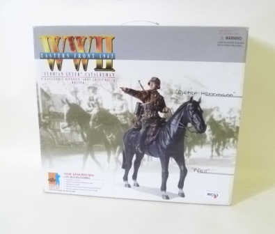 A DRAGON WWII 12 ACTION FIGURE CAVALRY MAN, boxed