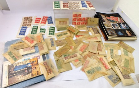 GB VARIOUS MINT ISSUES, mainly in strips of three, with cylinder numbers. Also blocks of 1924 issues.
