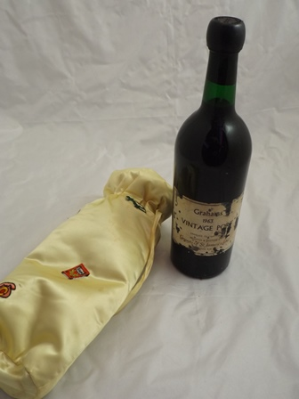 GRAHAMS 1963 Vintage Port, 1 bottle