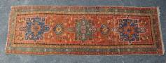 A 20TH CENTURY EASTERN WOOL RUNNER, oran